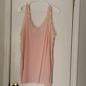 Chelsea Studio Baby Pink Camisole Tank Top
